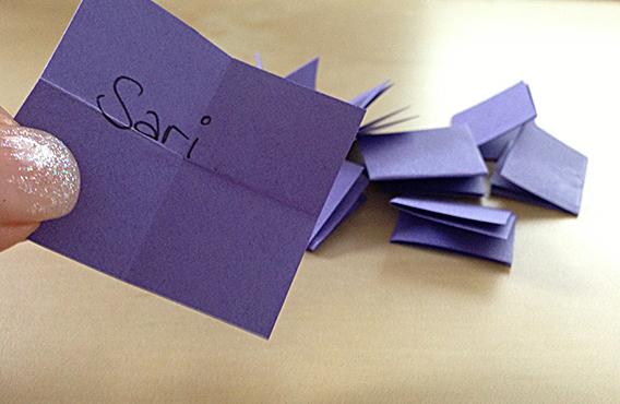 Die Gewinnerin: Sari! Herzlichen Glückwunsch!