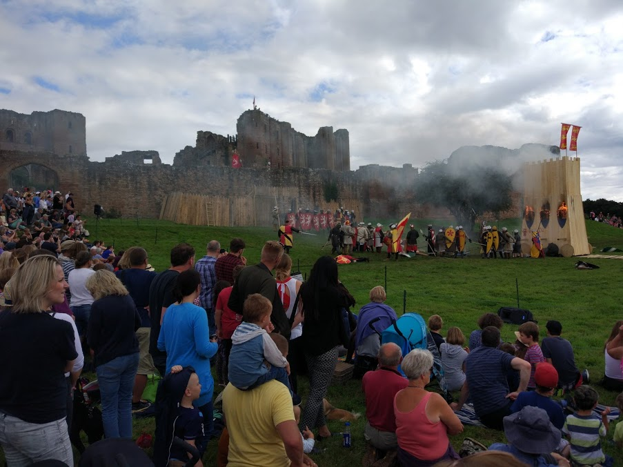 The Siege Re-Enactment, August 2016