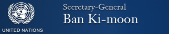 Ban Ki-Moon United Nations 11172559