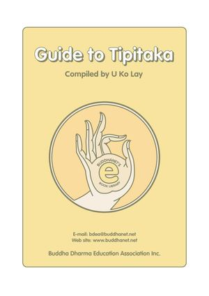 The Tipitaka