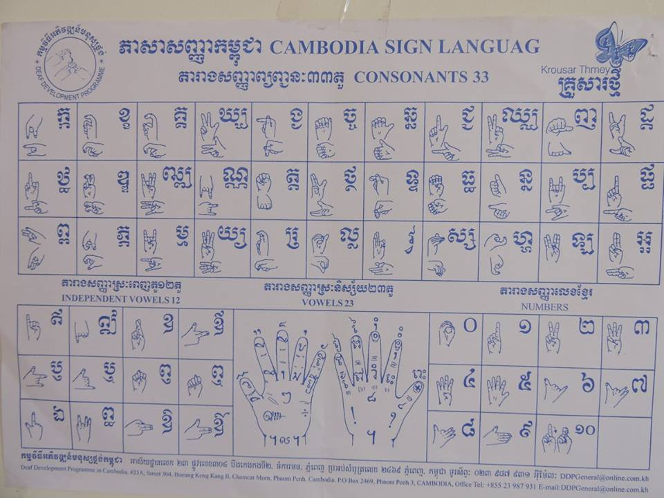 Cambodia Sign Language