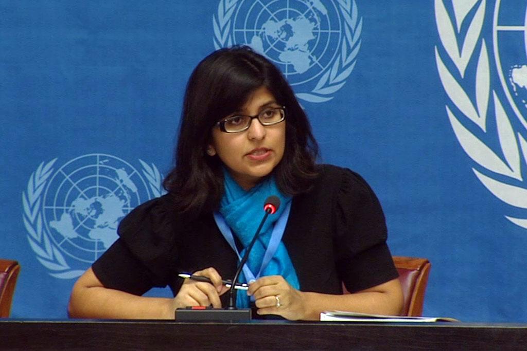 OHCHR spokesperson Ravina Shamdasan