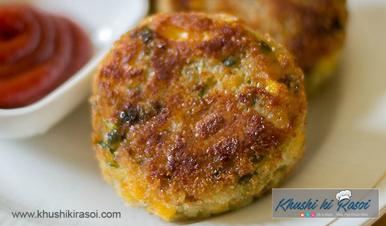 spicy-potato-corn-cutlet-recipe