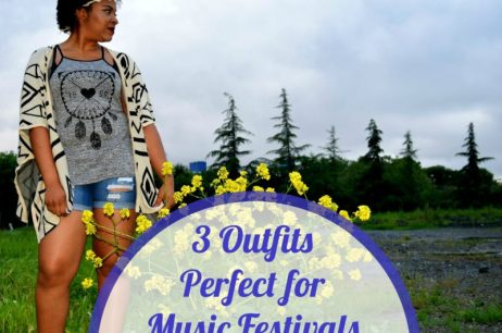 3 Outfits Perfect for Music Festivals (Like Coachella!)