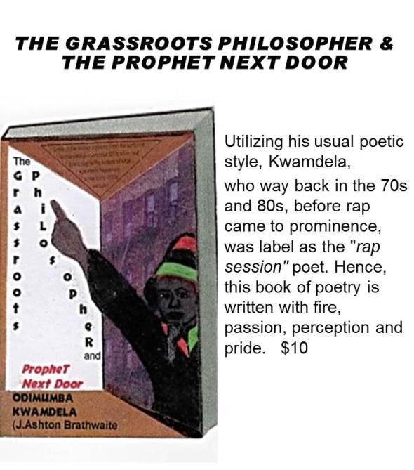THE GRASSROOTS PHILOSOPHER &THE PROPHET NEXT DOOR