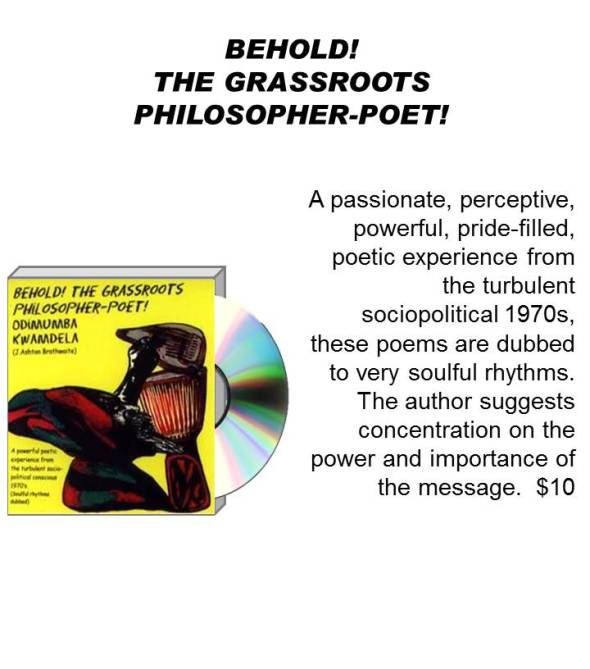 BEHOLD! THE GRASSROOTS PHILOSOPHER-POET!