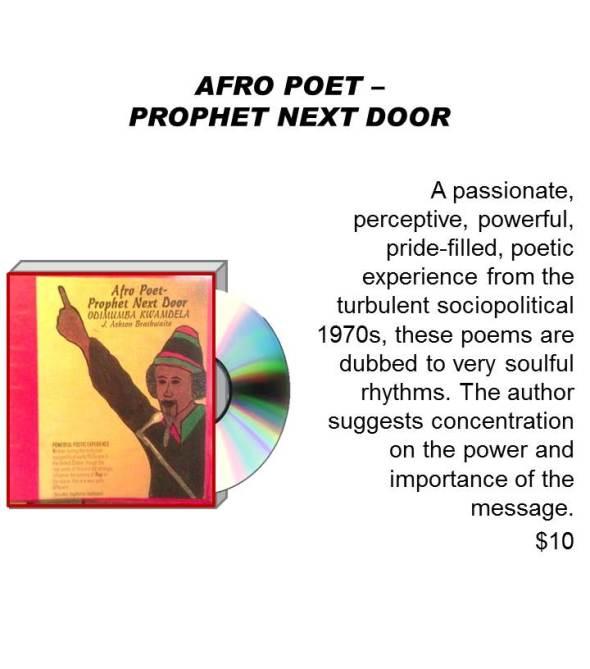 AFRO POET – PROPHET NEXT DOOR