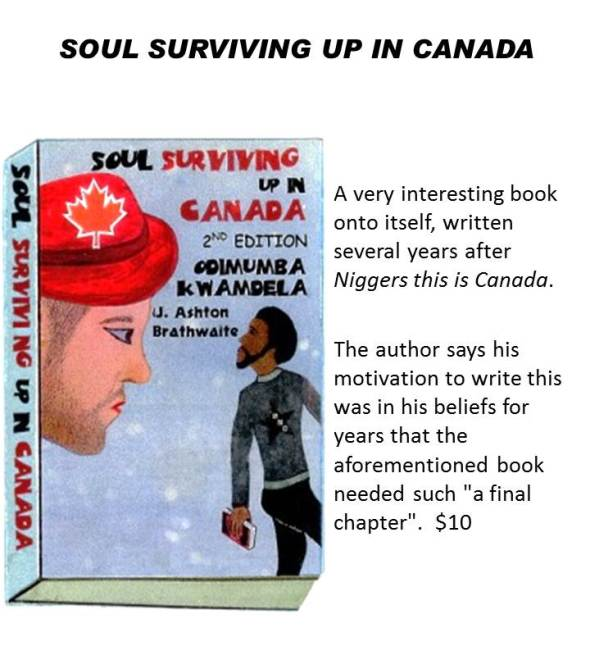SOUL SURVIVING UP IN CANADA