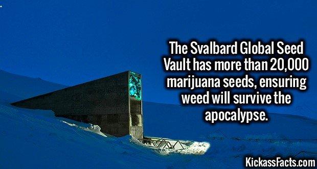 1829 Svalbard Global Seed Vault