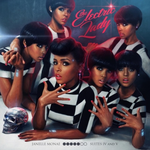 3. Janelle Monae The Electric Lady A happy funk party with roots in R&B's classic past and a mindful eye towards the future of Black pop. The best Prince has sounded in years.