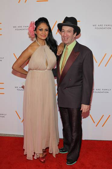 Donna D'Cruz, Tom Silverman (Photo by Shahar Azran)