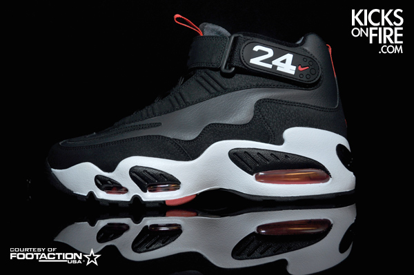 Nike Air Griffey Max 1 - Anthracite / Black - Hot Red