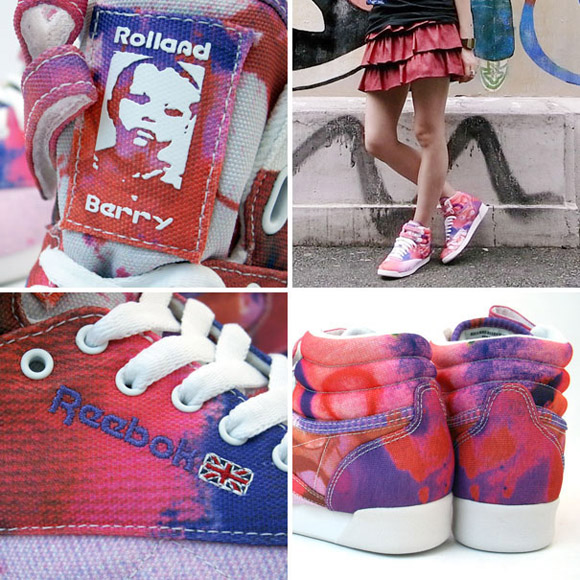 Reebok Freestyle x Rolland Berry - Painted
