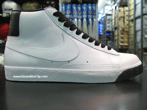 Nike Blazer High - White Pearlized