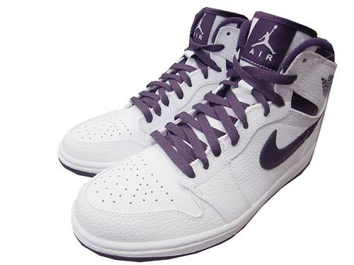 Air Jordan 1 (I) Retro High – Grand Purple / White