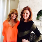 Leeza Gibbons with Kellie