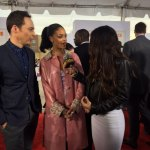 Rihanna & Jim Parsons Red Carpet Interviews