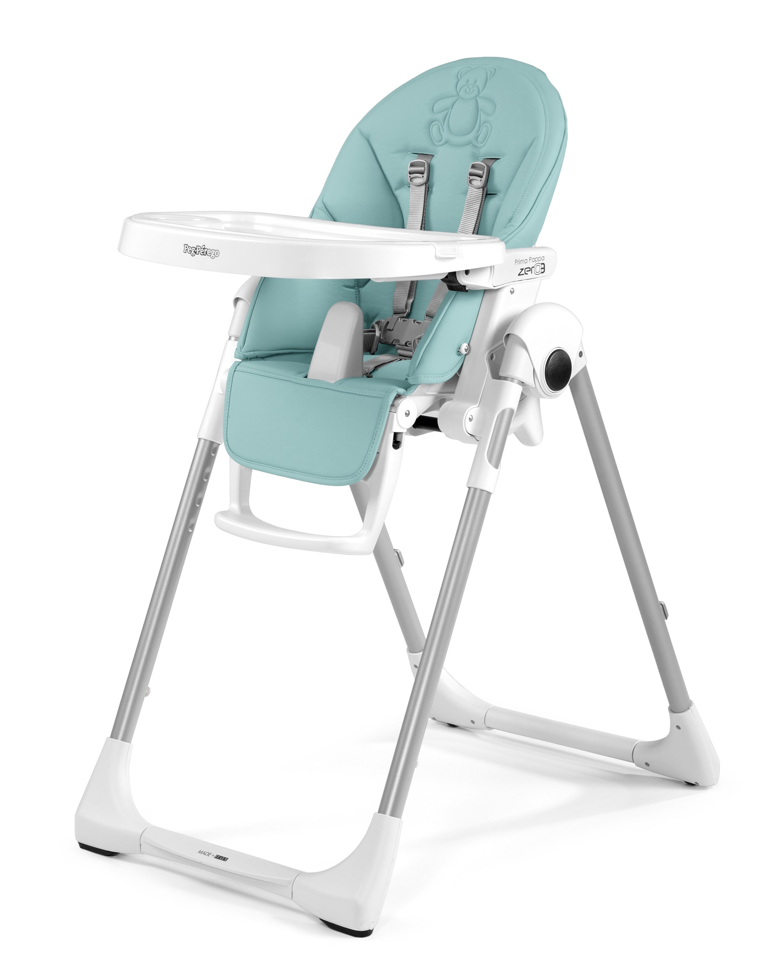 Appealing Chair Prima Pappa Follow Me Bear Azul 2018 Large Image Chair Prima Pappa Follow Me 2018 Bear Azul Buy At Peg Perego Chair Tray Peg Perego Chair Instructions baby Peg Perego High Chair