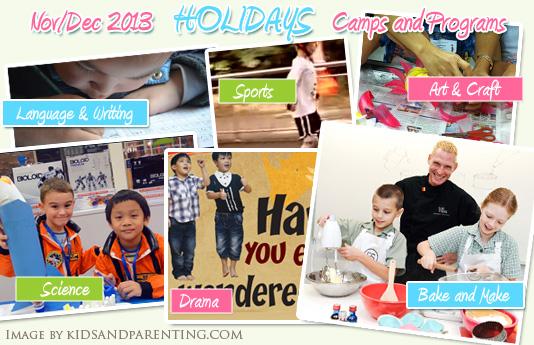 November and December Holiday Camps