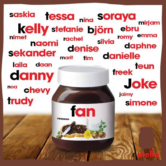 [Personalisatie] Nutella laat Facebook-fans een Nutella ...