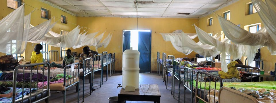 Women's ward at the Lwala Hospital in Uganda.