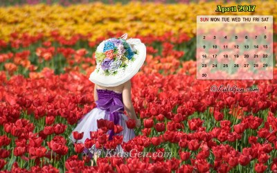 Month wise Calender Wallpapers 2017