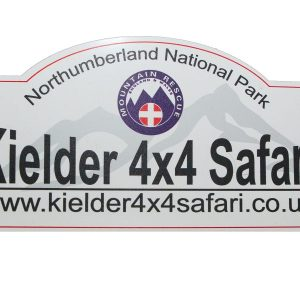 Kielder 4x4 Safari Rally Plaque