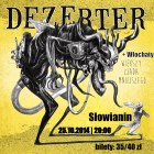 Szczecin, koncert, koncerty w Szczecinie, Dezerter, Włochaty, 25.10.2014, weekend, w Szczecinie
