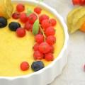 Crema frugi-catalana con frutos silvestres