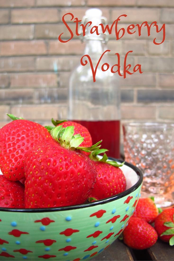 Happy Hour: Strawberry Vodka