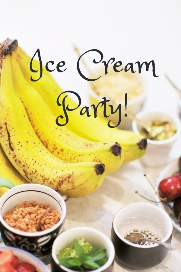 Ice Cream Party! Kiku Corner