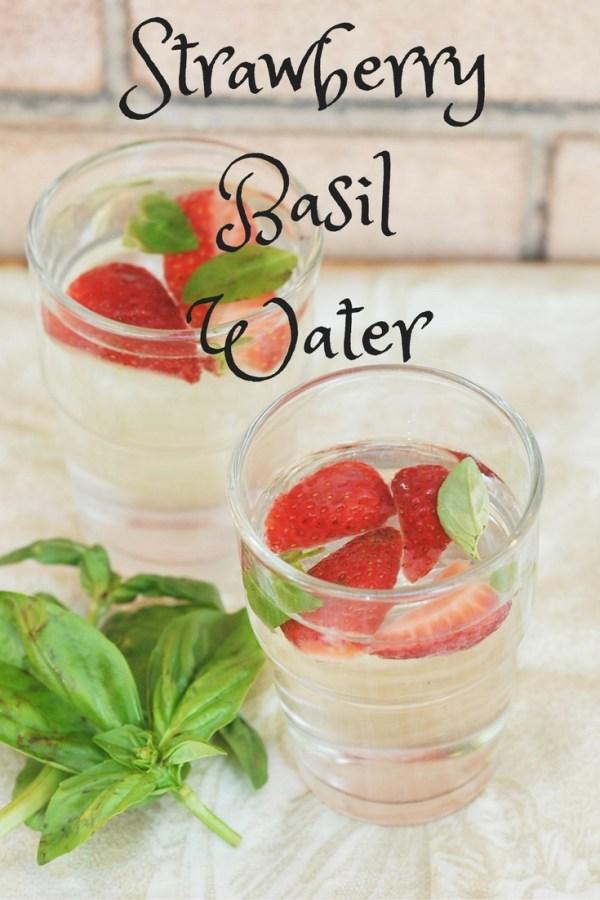 Strawberry Basil Water, Kiku Corner 7