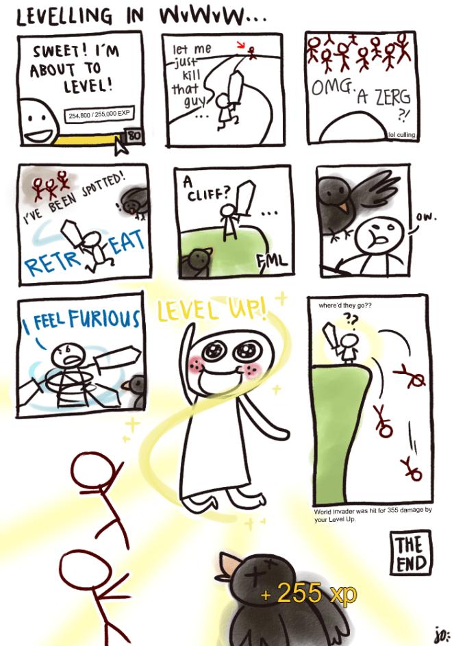 comic-level-up