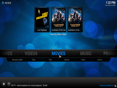 how to add media content to your kodi library