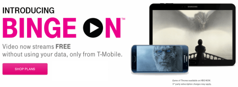 T-Mobile Unlimited Video Streaming