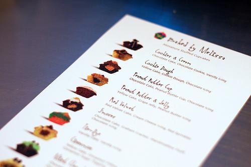 baked by melissa cupcake menu