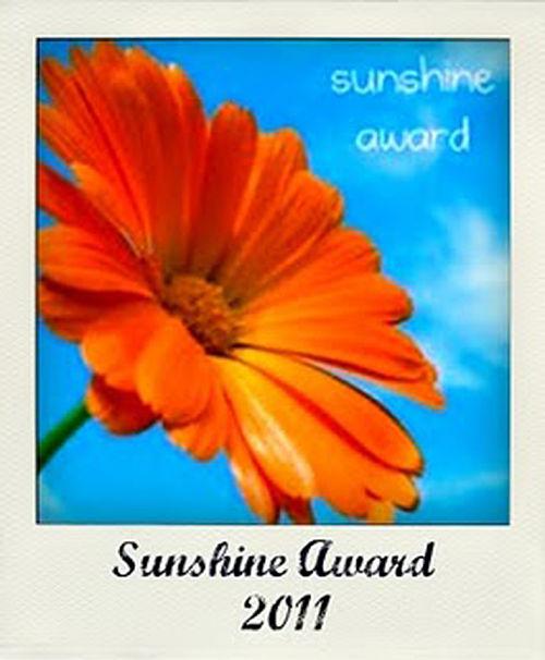 sunshine award 2011