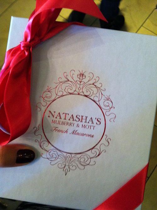 natasha's mulberry & mott french macarons box