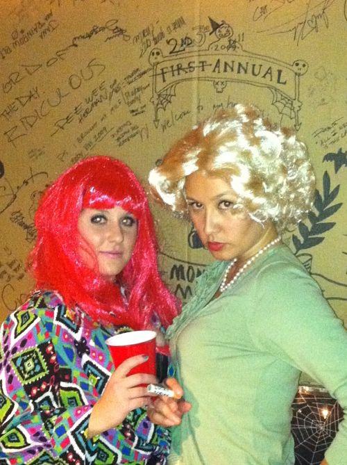 nicki minaj and betty draper halloween costume