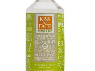 kiss my face lemongrass clary sage castile soap peace soap
