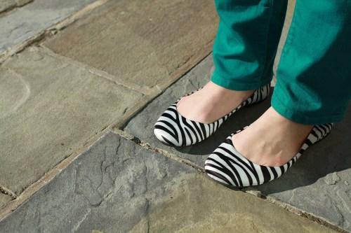 zebra flats