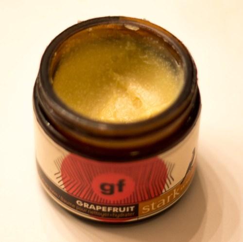 stark skincare grapefruit hydrate + cleanse balm