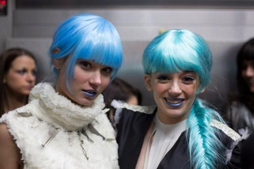kansas city fashion week backstage beauty andrea marie long designs ashley nelson studios team