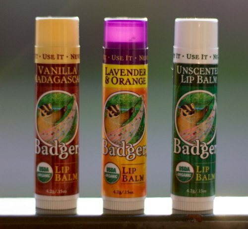 badger balm usda organic lip balm