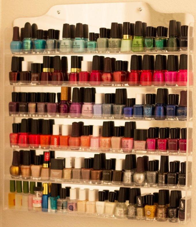 beauty blogger kimberlyloc nail polish collection