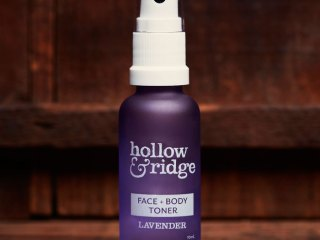 hollow and ridge lavender face and body toner