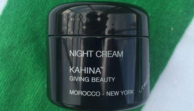 kahina giving beauty night cream