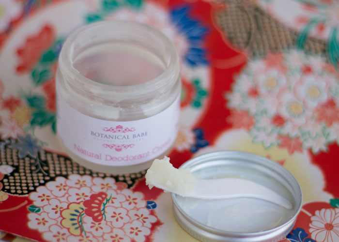 botanical babe natural deodorant cream