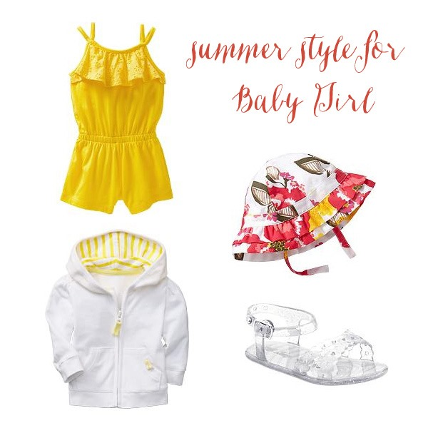 summer style for little girls with Old Navy