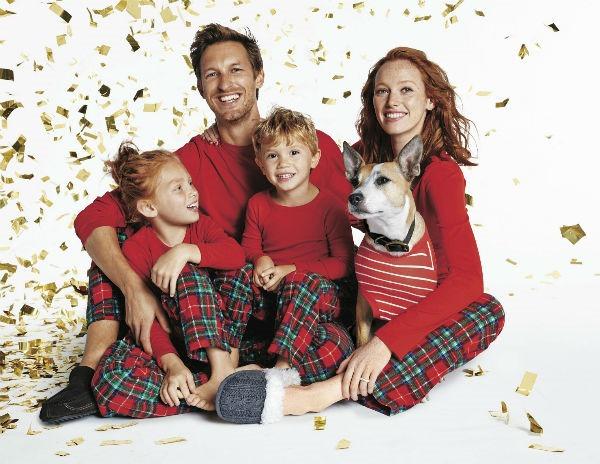 matching holiday pajamas for any budget